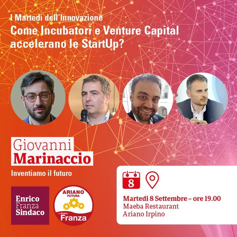 martedì dell'innovazione Ariano Irpino